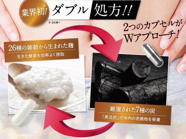 キラリ麹の炭クレンズ生酵素は販売店や実店舗で市販している?最安値はどこで買える?